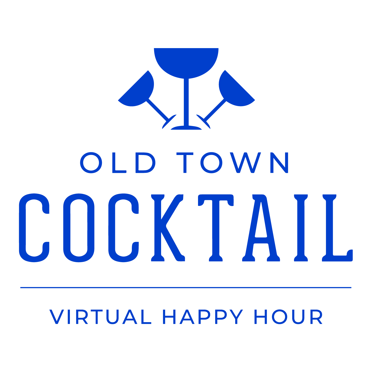 Old Town Cocktail | Virtual Happy Hour Logo