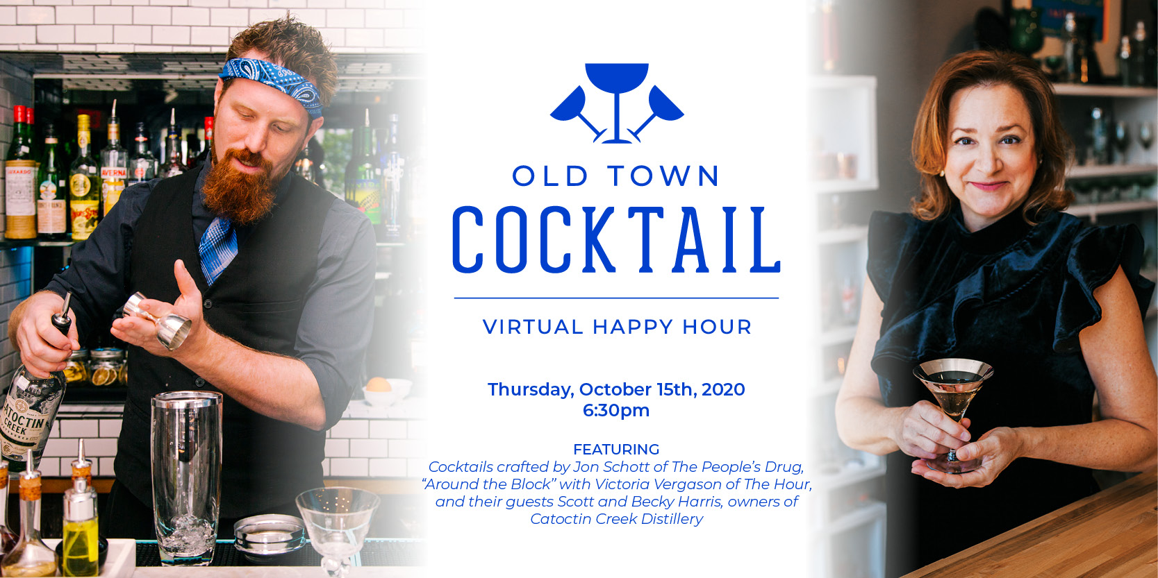 Old Town Cocktail | Virtual Happy Hour Premier