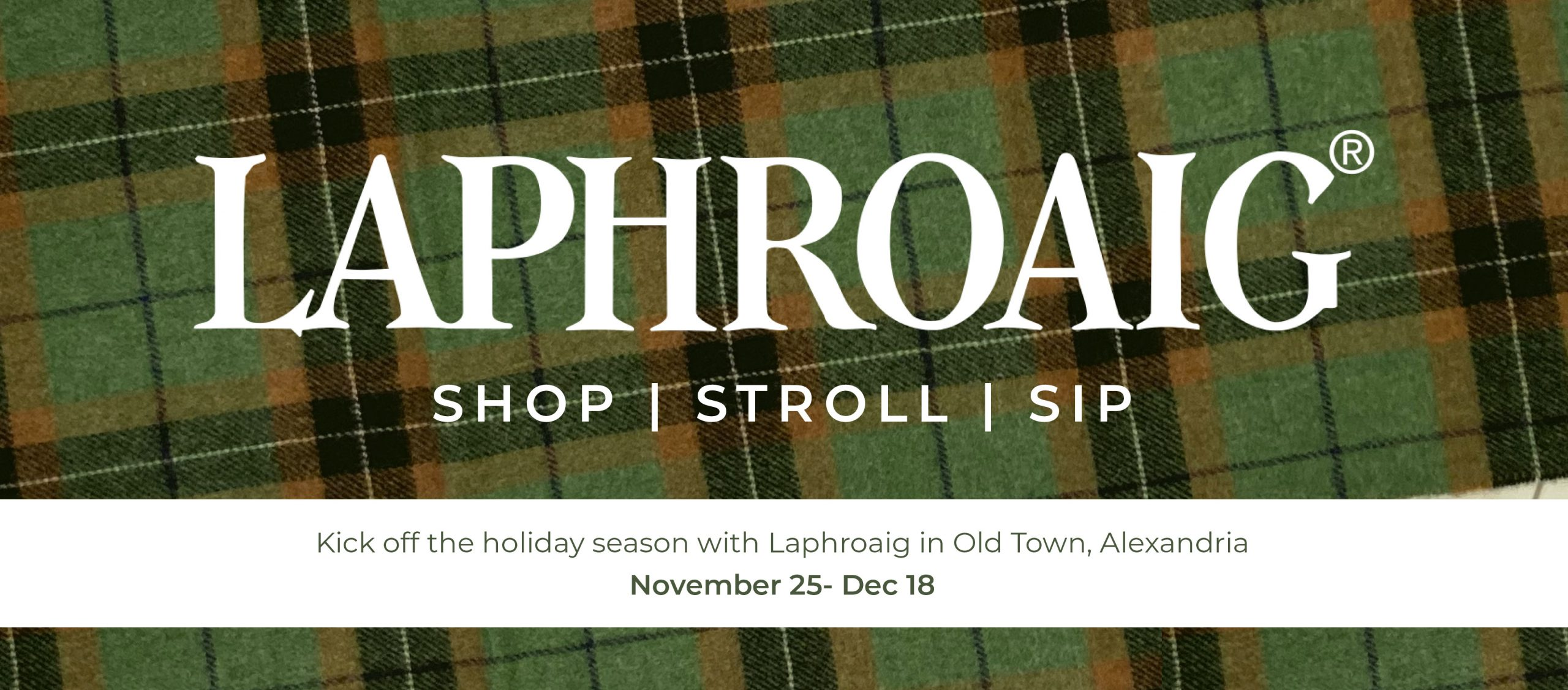 Laphroaig Sip and Stroll